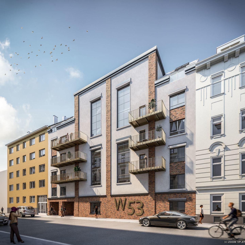 "Wohnbauprojekt  ""Alte Fabrik neues Leben W53"""