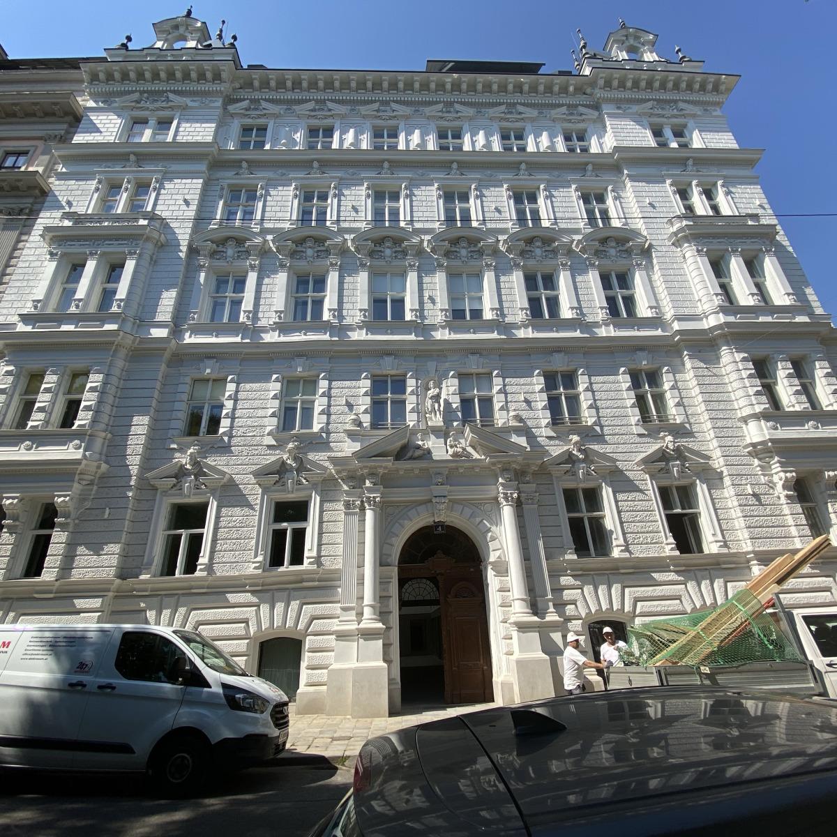 Prominentes Zinshaus am Alsergrund